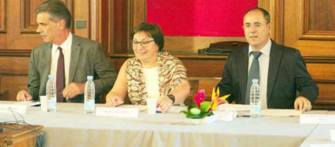 Martine PINVILLE, secrétaire d'Etat chargée du commerce, de la consommation, de l'artisanat et de l'économie solidaire
